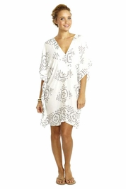 Cool Change Capri tunic in white