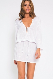 Cool Change Chloe tunic in white