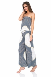 Cool Change Justine jumpsuit in shadow/beach