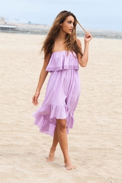 Soleil Blue Tracy dress in orchid FINAL SALE