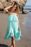 Soleil Blue Tracy dress in sea glass FINAL SALE