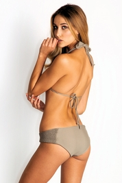 Tori Praver Daisy bottom in sand *FINAL SALE*
