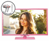 "E245PV-FHDR 24"" 1080P HDTV PINK SERIES and FREE EARPHONES"
