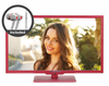 "E245RV-FHDR 24"" HDTV 1080P RED SERIES with FREE EARPHONES"