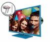 "E325LD-HDR 32"" 720P Blue Color Series with FREE EARPHONES"
