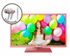 "E325PV-HDR 32"" 720P Pink Series Led TV with FREE EARPHONES"