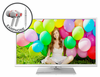 "E325WV-HDR 32"" 720P White Series Led TV with FREE EARPHONES"