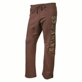 SPG's Women's Browning Camo Logo Sweatpants - Chocolate