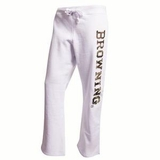 SPG's Women's Browning Camo Logo Sweatpants - White