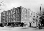1215 Eastern Parkway, northeast corner of Rochester Avenue, 1924