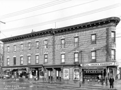 1233-1235 Prospect Avenue at Reeve Place, 1928