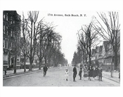 17th Avenue Bath Beach NY early 1900's