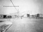 18th Street looking west at 11th Avenue, 1924