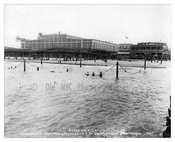 1922 - view from the pier looking at the beacj with Steeplechase Park in the background