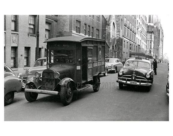 1930s Mail Truck Images And Photography At Old Nyc Photos