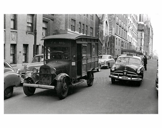 1930s Mail Truck - Jackson Heights - Queens, NY
