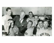 1943 NY Yankees World Series Champions with Commissioner Landis - Bronx NYC