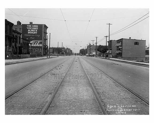 31st Street between 38th & 39th Ave - Astoria - Queens, NY 1913