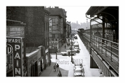 3rd Ave & 9th Street 1955 - Lower East Side  - Manhattan - New York, NY