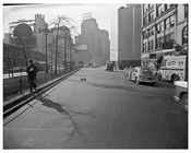 60th Street & Broadway looking at General Motors 1957 - Upper West Side - Manhattan - New York, NY