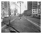60th Street & Broadway looking at Prescott Hotel 1957 - Upper West Side - Manhattan - New York, NY