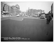 66th Street & Broadway & Columbus Avenue 1957 - Upper West Side - Manhattan - New York, NY