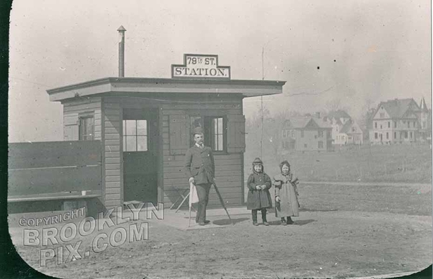 79th Street and Third Avenue, c.1900, currently the Poor House Bar, courtesy Bay Ridge Historical Society