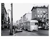 7th Ave  President St. - 7th Ave Trolley Line 1950