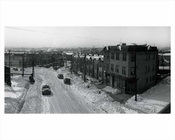 7th Avenue after a snowstorm  - Bay Ridge circa 1940s Brooklyn NY