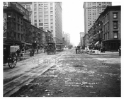 7th Avenue - between  23rd & 24th Streets  1917 Chelsea NYC
