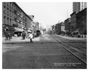 7th Avenue between 29th & 30th Streets 1916 August 1916 Chelsea NYC