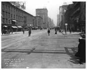 7th Avenue  between 33 - 34th Streets - March 20 1916 Chelsea, Manhattan