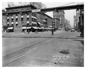 7th Avenue between 33rd & 34th Streets - Chelsea NY 1915