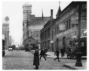 7th Avenue between 36 & 37 Streets Upclose shot  1917 Chelsea NYC
