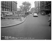 86th Street & Broadway looking at Hotel Bretton Hall 1957 - Upper West Side - Manhattan - New York, NY