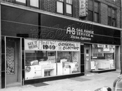 A&B Appliances at 1608 Coney Island Avenue, still in business! 1949