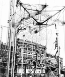 Acrobatic Show at the Parachute Jump, Steeplechase Park, 1940s