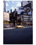 Ads in 1970s Times Square