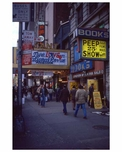 Adult movies in Times Square 1970s Manhattan