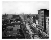 Aerial View of Metropoloitan  Avenue - Williamsburg - Brooklyn, NY 1917