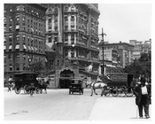 Alternate view of 72nd Street Station - Upper West Side - New York, NY 1910