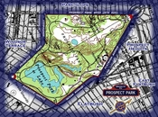Area map for Prospect Park