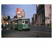 Atlantic & Flatbush Trolley Brooklyn NY 1951