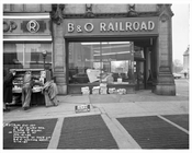 Baltimore & Ohio Railroad Building at Columbus Circle 1957 - Upper West Side - Manhattan - New York, NY