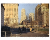 Battery Park Lower Manhattan NYC 1940s