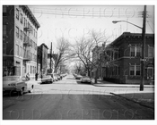 Belmont Avenue east facing Millen Avenue East New York 1965