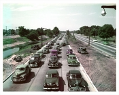 Classic Cars along the Belt Parkway 1953