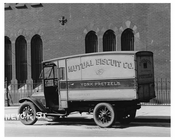 Biscut truck on Ten Eyck Street & Bushwick Ave - Williamsburg - Brooklyn , NY  1923