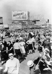 Boardwalk Scene, 1940s