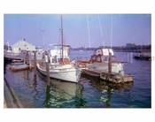Boats in the bay 1970s